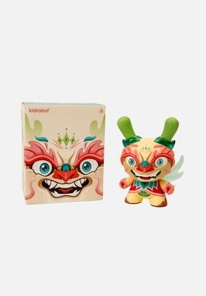 Kidrobot Imperial Lotus Dragon Dunny 8-inch Tan By Scott Tolleson Toys & LEGO Vinyl
