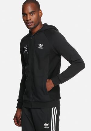 Adidas Originals Classic Sports Hoodie Hoodies & Sweatshirts Black