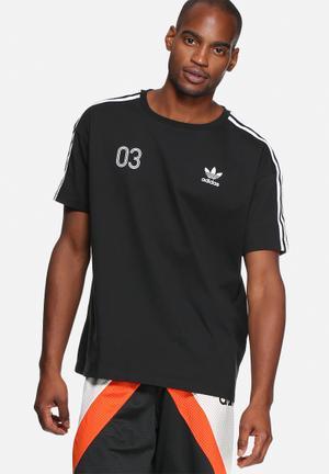 Adidas Originals Boxy Tee T-Shirts Black