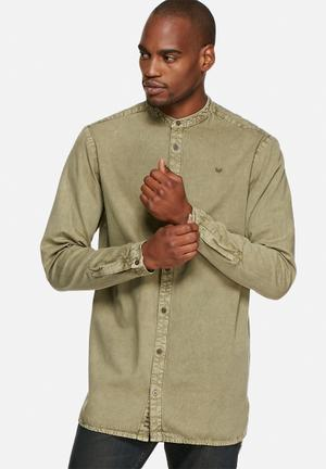 Sergeant Pepper Dobby Long Shirt Khaki