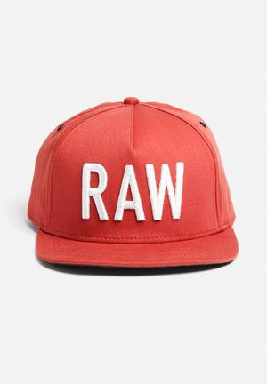 G-Star RAW Obaruh Snapback Cap Headwear Antic Red