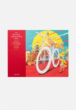 Shan Jiang The Bicycle Colouring Book Gifting & Stationery