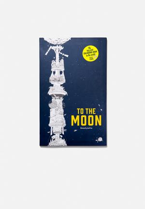 Sarah Yoon To The Moon Colouring Book Gifting & Stationery