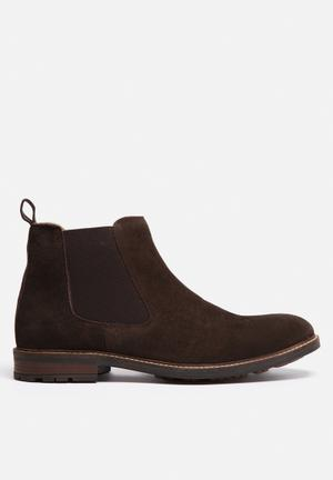 Watson Shoes Westfield Boots Brown