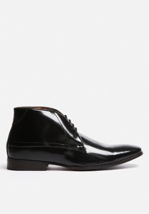 Watson Shoes Fenton Boots Black
