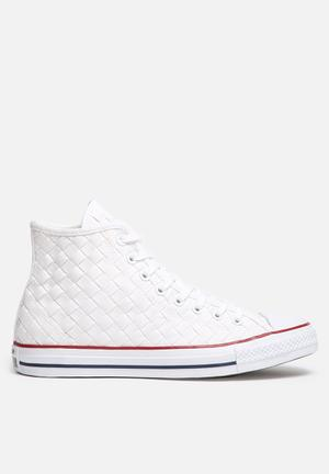 Converse Chuck Taylor Hi Woven Sneakers White