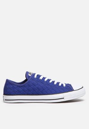 Converse Chuck Taylor Low Woven Sneakers Blue