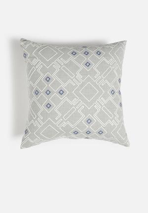 Hertex Fabrics Canna Dew Cushion