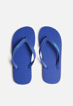 Jack & Jones Footwear & Accessories Basic Rubber Sandals & Flip Flops Blue