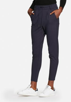 ONLY Poptrash Easy Colour Pants Trousers Navy