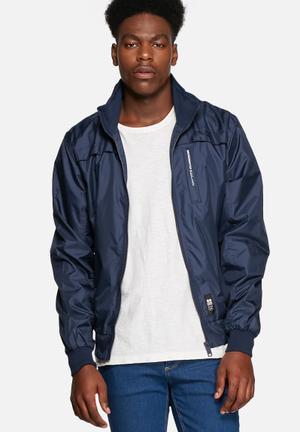 Crosshatch Brimon Jacket Iris Navy