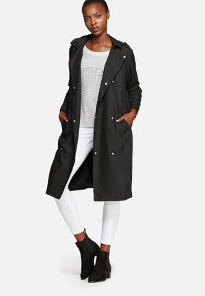 Vero Moda Lisa Trenchcoat Black