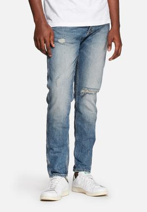 Jack & Jones Jeans Intelligence Erik Original Antifit Jeans Blue Denim