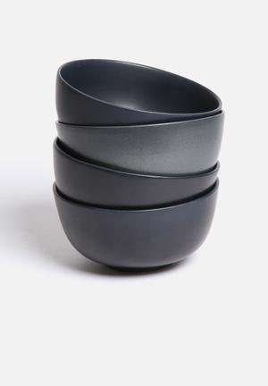 Urchin Art Bowl Set Of 4 Dining & Napery Ceramic