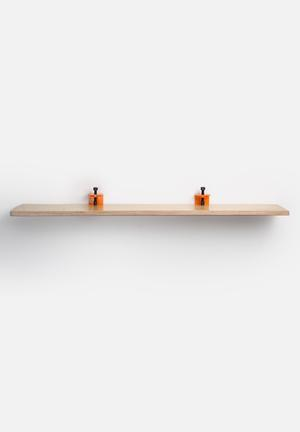 TRSTRL Large Clamp Shelf Orange