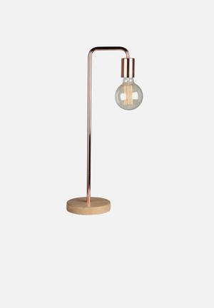 Illumina Kolton Lighting Metal & Wood