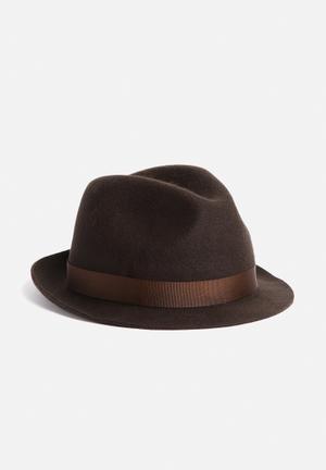 Simon And Mary Alfredo Hat Headwear Brown