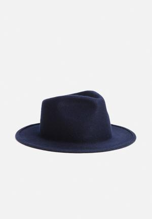 Simon And Mary Shape Shape Hat Headwear Navy