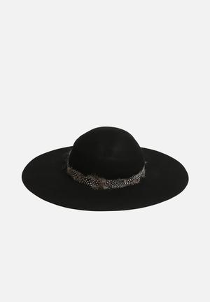 Vero Moda Samantha Wool Hat Headwear Black