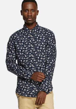 Jack & Jones Premium Willis Slim Shirt  Navy