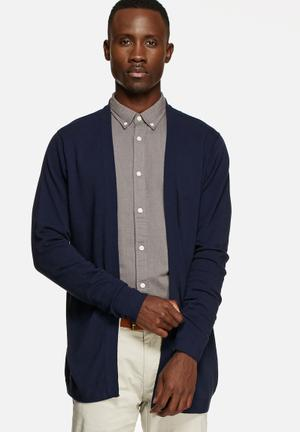 Jack & Jones Premium Ryan Knit Cardigan Knitwear Navy
