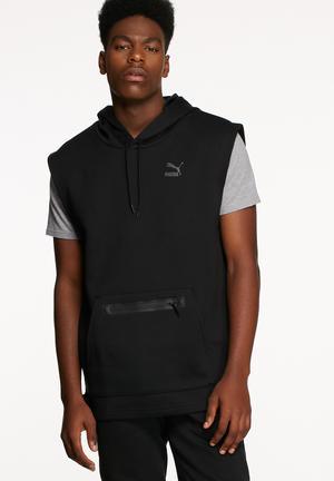 PUMA Evo Hoodie Hoodies & Sweatshirts Black