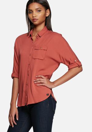 ONLY Charlotte Shirt Marsala
