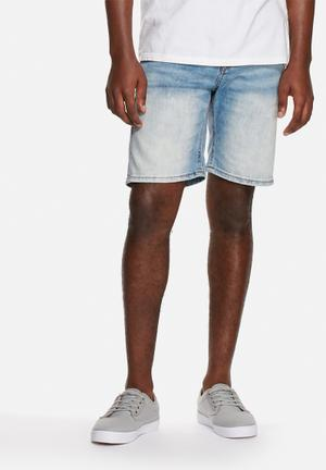 Only & Sons Loom Shorts Light Blue Denim