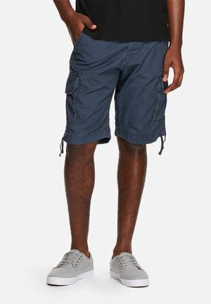 Jack & Jones Jeans Intelligence Gary Cargo Shorts Navy