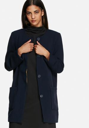 VILA Cory Coat Navy