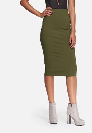 The Fifth Late Night Skirt  Olive
