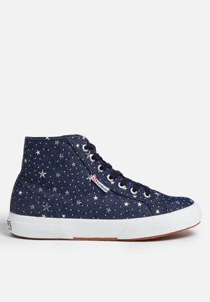 SUPERGA 2795 Denim Stars Sneakers Blue
