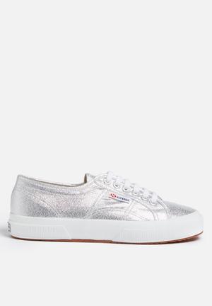 SUPERGA 2750 Lamew Glitter Classic Sneakers Silver