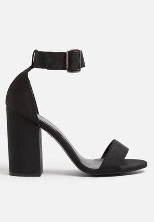 ONLY Aggy Heels Black