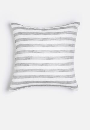 Hertex Fabrics Endless Flint Cushion