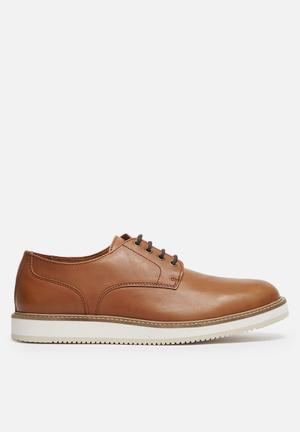 WeSC Blucher Formal Shoes Tan