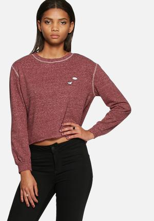 Dailyfriday Badge Sweat T-Shirts, Vests & Camis Pink