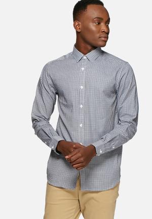 Jack & Jones Premium Jason Slim Fit Shirt Navy