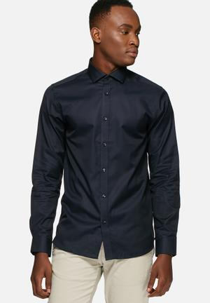 Jack & Jones Premium Andrew Slim Fit Shirt Navy