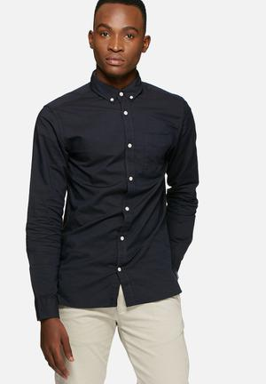 Jack & Jones Premium David Slim Fit Shirt Navy