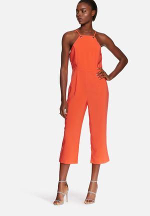 Glamorous Formal Jumpsuit Orange