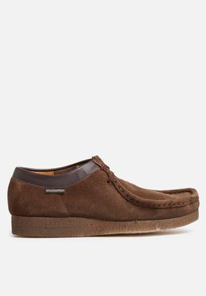 Grasshoppers Moccasin Slip-ons And Loafers Dark Brown