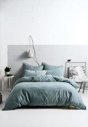 Linen House Willow Stone Duvet Cover Set Bedding 100% Cotton