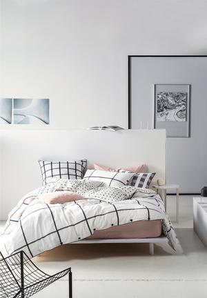 Linen House Larsen Magnet Duvet Cover Set Bedding 100% Cotton