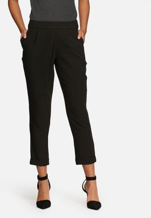 VILA Data Pants Trousers Black