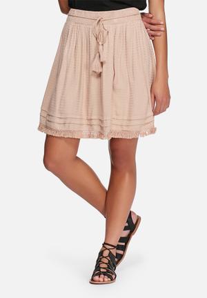 VILA Modi Skirt Pink