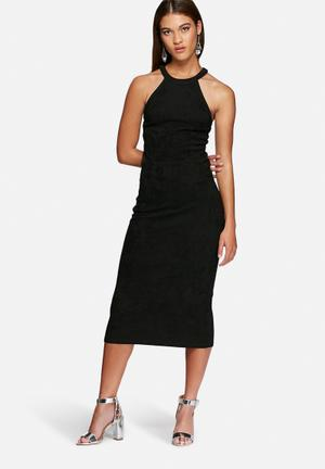 Vero Moda Sayma Cut-out Calf Dress Occasion Black