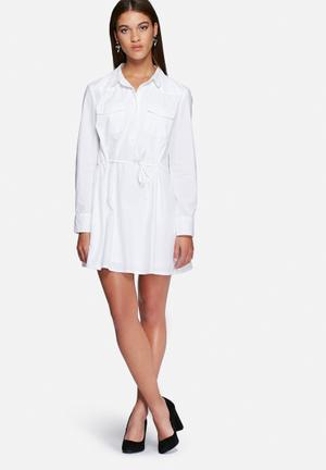 Vero Moda Charlie Shirt Dress Casual White
