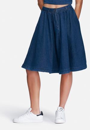 Vero Moda Alani Denim Skirt Blue