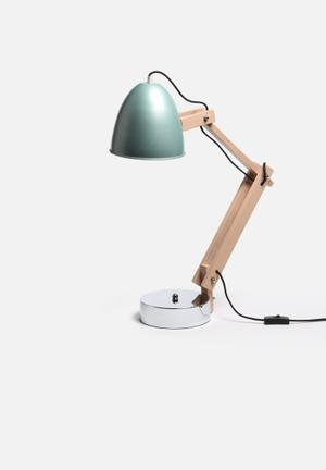 Nolden Bros Max Desk Lamp Lighting Wood & Metal